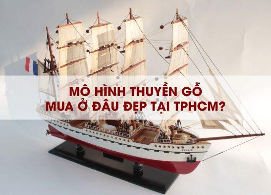 mua mô hình thuyền buồm trang trí tại tphcm