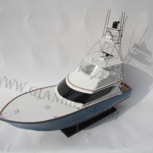 Hình Thuyền Buồm Bằng Gỗ HATTERAS GT-60 15