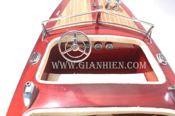 Mô Hình Thuyền Buồm Phong Thủy TYPHOON 6