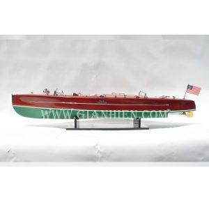 Mô Hình Thuyền Buồm Phong Thủy TYPHOON 1
