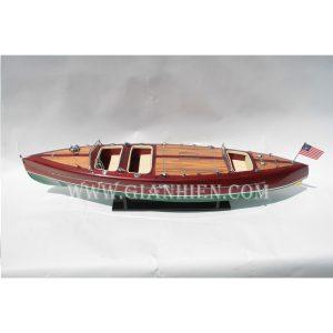 Mô Hình Thuyền Buồm Phong Thủy TYPHOON